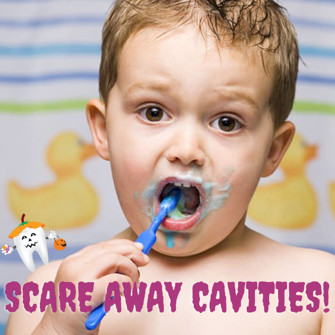 SCARE AWAY THOSE CAVITIES! (2)