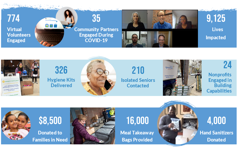 Virtual Volunteering Infographic